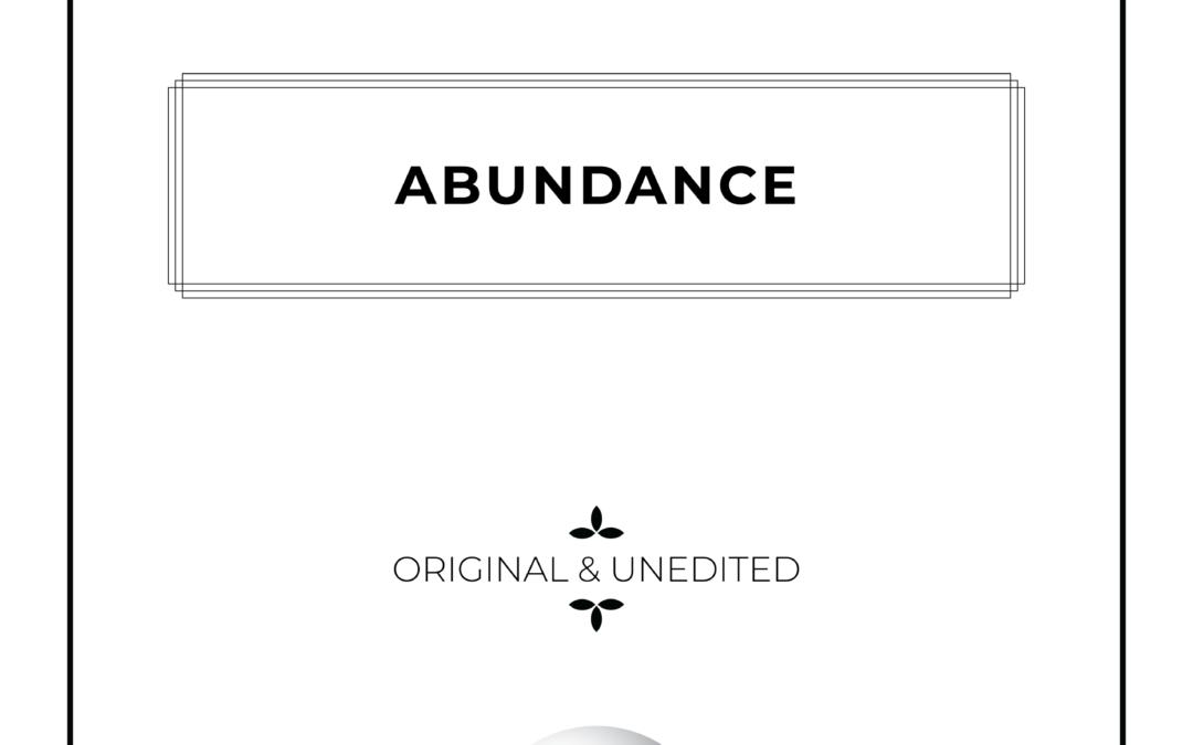Abundance – Piano Solo