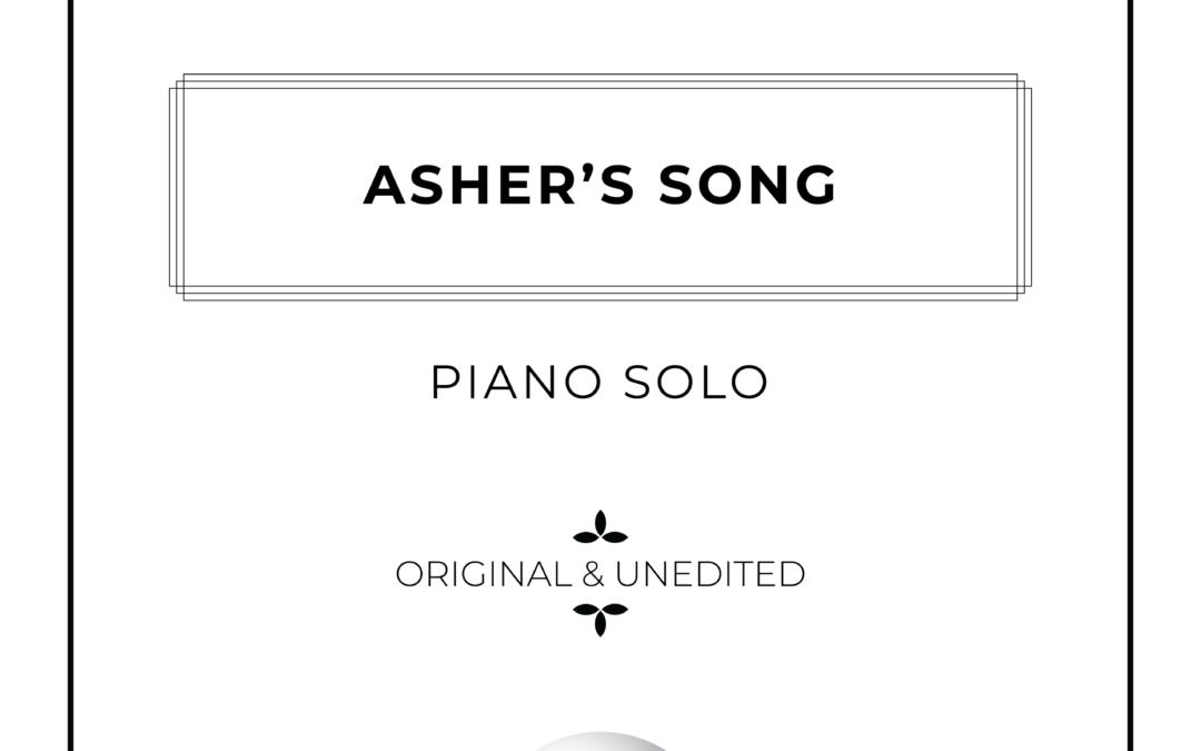 Asher's Song - Piano Solo Sheet Music - Arthur Breur
