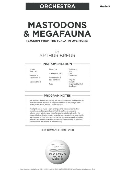 Mastodons & Megafauna – Orchestra