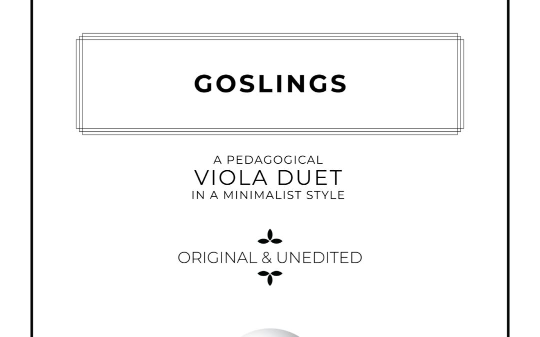 Goslings – Viola Duet