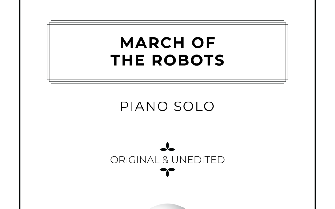 March of the Robots - Piano Solo Sheet Music
