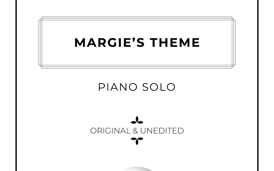 Margie's Theme – Piano Solo