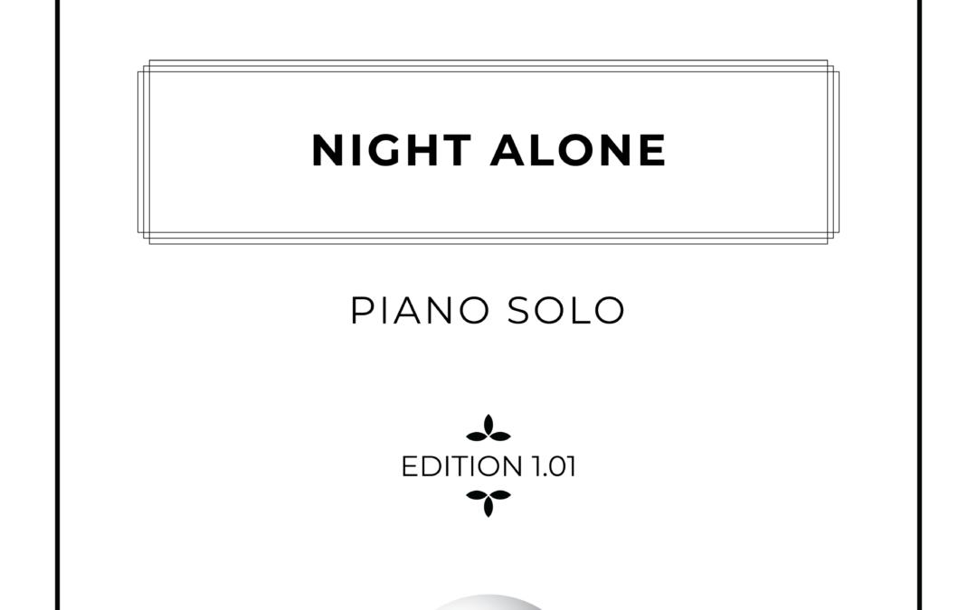 Night Alone - Piano Solo Sheet Music - Arthur Breur