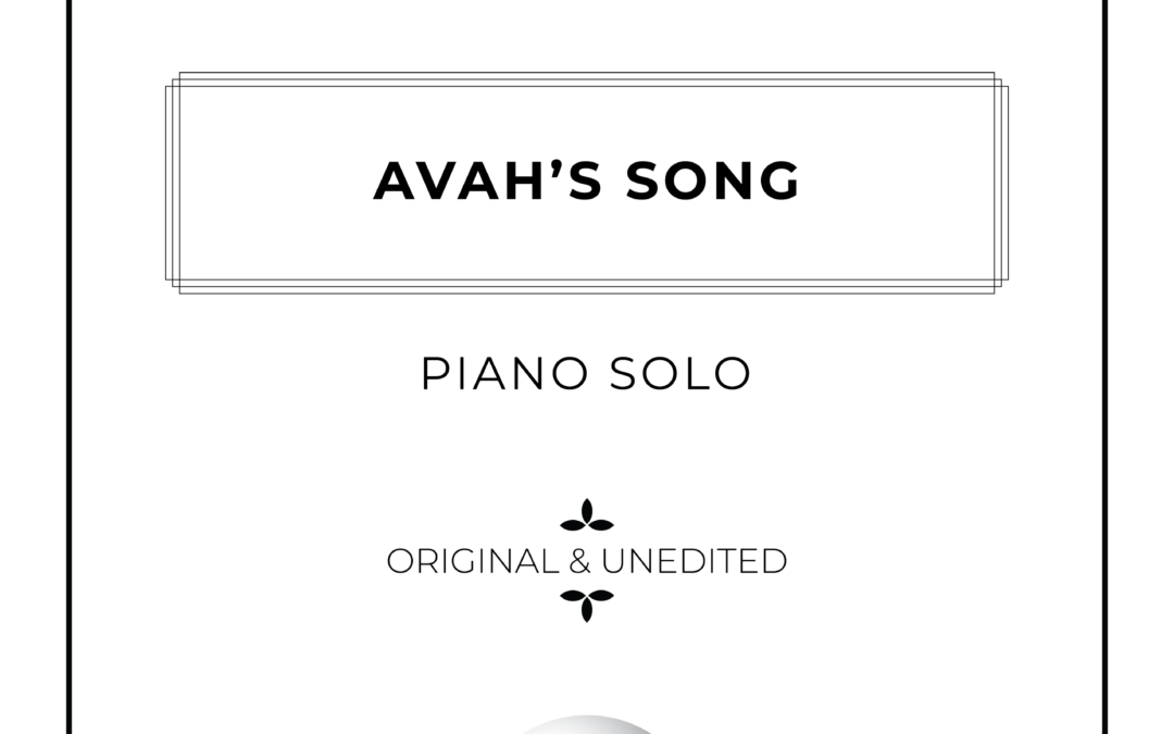 Avah's Song – Piano Solo